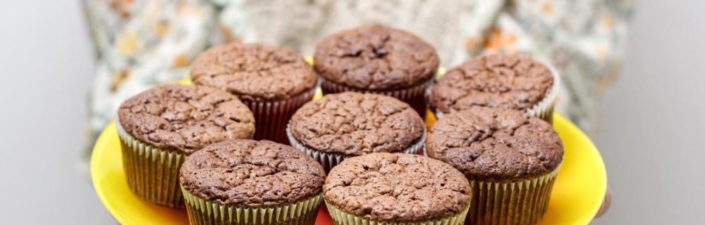 Muffins på tallerken