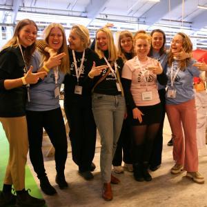 Gruppe af piger