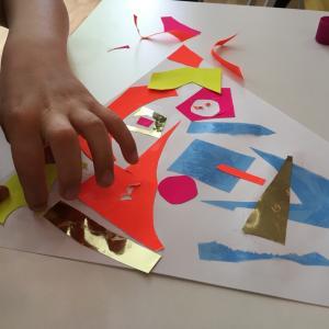 Foto Gudrun Stefansson Undervisning på KUNSTEN foregår i samarbejde med Skoleforvaltningens Skoletjeneste